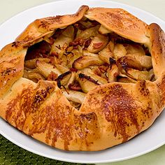 595 calories! :) Inspired by the best apple tart in Paris, these individual tarts pair tender-crisp pastry with a generous, buttery apple filling. The pastry, made using a simplified version of the technique professional chefs use, stays crisp on the bottom. Serve these tarts still warm, with a dollop of ice cream melting over the warm fruit, or eat one out of hand at room temperature.