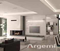 Tags: living room with fireplace decor, living room with fireplace and .-Tags: wohnzimmer mit kamin dekor, wohnzimmer mit kamin und bücherregal … Tags: living room with fireplace decor, living room with fireplace and bookcase … - Living Room Decor Fireplace, Fireplace Tv Wall, Modern Fireplace, Fireplace Design, Fireplace Ideas, Stone Fireplaces, Living Room Modern, Living Room Interior, Small Living