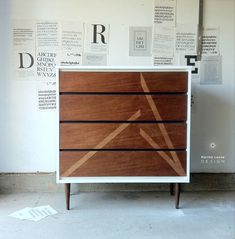 New dresser using my most important tool of the trade — Martha Leone Design