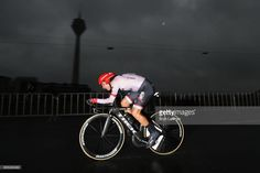 Fabio Felline of Italy and Trek-Segafredo competes during stage one of Le Tour de France 2017, a 14km individual time trial on July 1, 2017 in Duesseldorf, Germany.