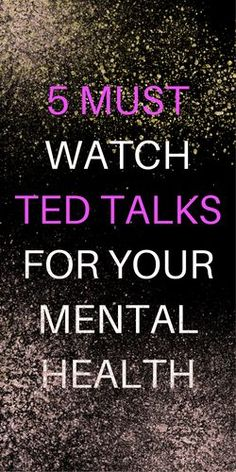 """I'm a self help junkie and I'm always looking for fresh ideas from people who """"get it"""". Frankly, there's a lot of garbage in the self help world and it takes a bit of time to wade through all the fads and fluff. These TED talks are the most kick ass ones I've found so far and I wanted to share..."""