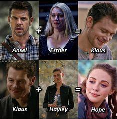 Vampire Diaries Season 7, Vampire Diaries Guys, Vampire Diaries The Originals, Klaus And Hope, The Mikaelsons, Original Memes, Wolf Spirit Animal, Hope Mikaelson, The Originals Characters