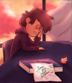 Dipper represents me after the finale of Gravity Falls 😢 Gravity Falls Dipper, Gravity Falls Comics, Gravity Falls Secrets, Fall Wallpaper, Dipper Pines, Billdip, Reverse Falls, Fall Pictures, Star Vs The Forces