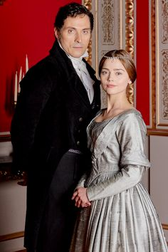 VICTORIA. Jenna Coleman and Rufus Sewell as Victoria and Lord Melbourne