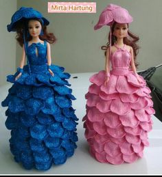 azul y rosa