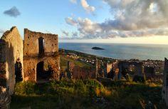 Cirella Vecchia, Calabria, Italy. www.italianways.com/beauty-and-ruins-in-old-cirella-destroyed-three-times/  #italy #travelitaly #italianways