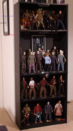 #jasonvoorhees Jason Voorhees, Michael Myers, Horror Movie Characters, Horror Movies, Freddy Krueger, Gi Joe, Slytherin, Geeks, Horror Action Figures