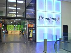 The entryway for Premium-X Cinemas' first cinema at One City Mall, USJ.