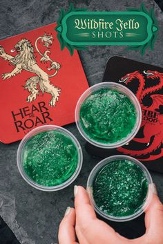 These recipes were cooked up for a Game of Thrones viewing party. Check out the full plan here.