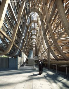 China Pavilion at Expo Milan 2015 / Tsinghua University + Studio Link-Arc