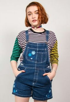 Dungarees, Overalls, Playsuits, Suspenders, Overall Shorts, Rompers, Women, Fashion, Moda