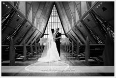 air force cadet chapel wedding | Click Photography: R & T's elegant Air Force Academy wedding!