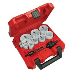 13-pc General Purpose Ice Hardened™ Hole Saw Kit | Milwaukee Tool