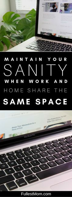 Do you find it hard to turn off your computer? Do your work and home share the same space? I've got several easy productivity tips on how to find balance and boundaries. Get more done and find happiness from working from home. Everyday tips for work space motivation and setup.