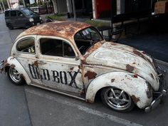 vw Beetle 1961 rust