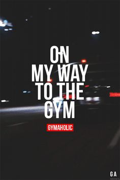 I'm On My Way To The Gym http://www.gymaholic.co/motivation/im-on-my-way-to-the-gym-focus-on-my-goals-im #fit #fitness #fitblr #fitspo #motivation #gym #gymaholic #workouts #nutrition #supplements #muscles #healthy