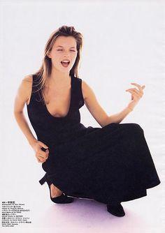 Kate Moss Harper's Bazaar January 1998