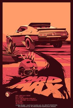 designersof:  MAD MAX (1979) While awaiting the release of the new exciting Mad Max movie with Tom Hardy, here's my version of the original one.^_^ Prints and tees: HERE STORE - FACEBOOK - TWITTER - DRIBBBLE ———————— get your work featured bysubmittingit todesignersof.com click here toadvertise with us.  this post is sponsored by bestedgesem.com