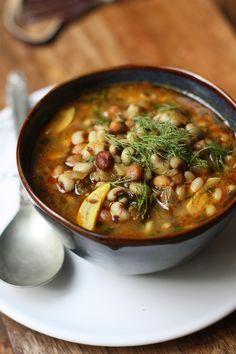 Black eyed Peas- Dill- Peanut Curry