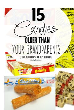 15 Candies Older Than Your Grandparents That You Can Still Buy Today - CandyDirect's Blog - DIY Tips  Candy News