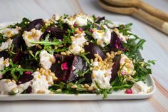 Roasted Beet and Burrata Salad | Giadzy Giada Recipes, Beet Recipes, Salad Recipes, Vegetarian Recipes, Cooking Recipes, Healthy Recipes, Recipies, Vegetarian Dinners, Smoothie Recipes