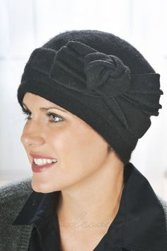 Knotted Pull On Hat for Cancer Patients   Headcovers.com