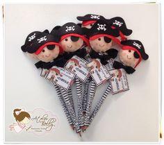 Lápis personalizado + Ponteira Pirata   Atelier Belly   Elo7