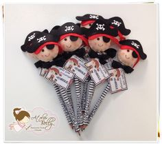 Lápis personalizado + Ponteira Pirata | Atelier Belly | Elo7