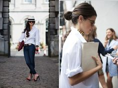 My search for the perfect White shirt is an on-going exercise...  White Button Down
