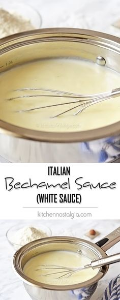 Italian Bechamel Sauce (or White Sauce) is one of the easiest sauces to make. And super versatile, too!