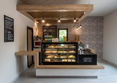 This week's project is Sütizz Confectionery which was opened recently in the 11th district of Budapest. It was a pleasure to work for a confectionery, that became finally a sweet little oasis next to the block of flats.