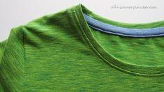 T-Shirt-Ausschnitt mit Versäuberungsstreifen – ein Tutorial | Nähzimmerplaudereien