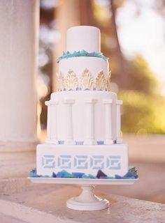 Hostess with the Mostess® - Greco Roman Wedding Inspiration