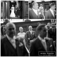 Wedding ceremony aT Beamish Hall Co. Durham north east england