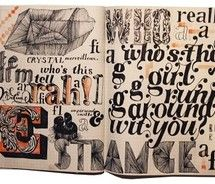 moleskine would be better if it had inspiring words reated to you as an individual Typography Sketchbooks, Typography Letters, Hand Lettering, Lettering Styles, Artist Sketchbook, Sketchbook Pages, Sketchbook Ideas, Moleskine, Notebook Art