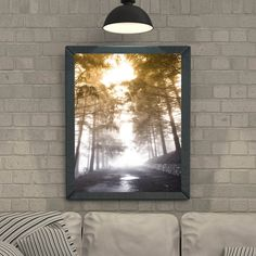 Forest Print Forest Wall Decal Into the wild by IrenaIntothewild