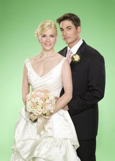 "Sami and Lucas ""Days of our Lives""   Green Wedding"