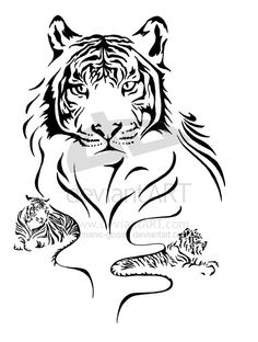 Kiala's Tiger by *manic-goose on deviantART