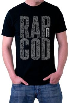 Check our new product Rap God - Lyrics ... here: http://infinite-clothing.com/products/rap-god-lyrics-logo-t-shirt?utm_campaign=social_autopilot&utm_source=pin&utm_medium=pin  #clothing #infinite #clothes #fashion #apparel #funny #amazing
