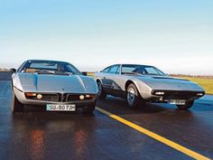 Maserati: love the classic looks of all the older super cars