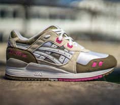 Asics Gel Lyte III WMNS-White-Brown