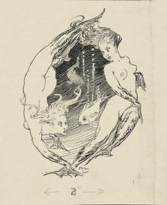 Norman Lindsay Fish Swimming between Two Mermaids ink pencil drawing Norman Lindsay, Kunst Inspo, Art Inspo, Art And Illustration, Fantasy Kunst, Fantasy Art, Mermaids And Mermen, Fairytale Art, Australian Artists