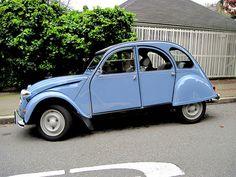 Classic Car Citroen 2cv This is exactly like celeste :(