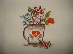 Cross Stitch, Plants, Punto De Cruz, Seed Stitch, Cross Stitches, Crossstitch, Punto Croce
