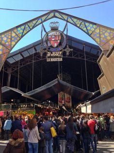 La Boqueria- Barcelona's best market