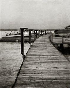 Black and White Photography, Nautical Decor, Rustic Decor, Lodge Decor, Boating, Boats, Dock, Lake Art.