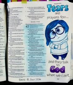 Tears are prayers too.... And they talk to God, when we can't....