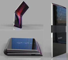 Acesta este posibilul telefon Sony Xperia Flex pliabil Sony Xperia, Golf Clubs, Geek Stuff, Blog, Geek Things, Blogging