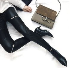 Pointed Boots Style