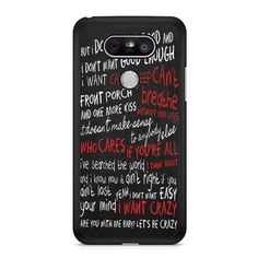 Hunter Hayes Quote LG G5 Case Dewantary